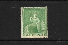 BARBADOS 1861-70    1/2d   BRITANNIA   MLH      SG 21