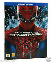 The Amazing Spiderman Blu-ray Región B NUEVO