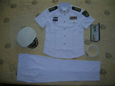 Obsolete 07's China PLA Navy Man Officer Summer Short-sleeved Uniform,Set,C