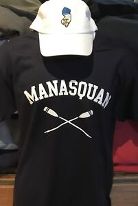 VERY COOL NEW JERSEY  MANASQUAN [NAVY] ++++T TEE SHIRT!  ^^SQUAN ^^^^^