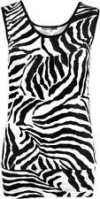 Polyester Animal Print Regular Size Tops & Shirts for Women