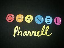 CHANEL PHARRELL t-shirt oversize tee unisex mixte noir black