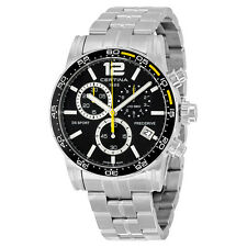 Certina DS Sport Chronograph Black Dial Mens Stainless Steel Watch