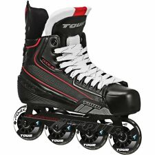 Tour Code 7 Junior Roller Hockey Skates Size 3 USED