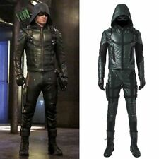 The Green Arrow Season 5 Oliver Queen Cosplay Costume Full Set