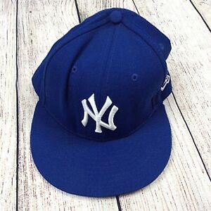 59FIFTY MLB New York Yankees New Era Wool Baseball Hat Fitted 7 3/8 58.7 CM