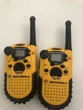 Motorola Talkabout 200 2-way Walkie Talkies (2) Comes With 6 AA. Tested. Works.