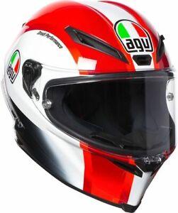 CASCO HELMET MOTO INTEGRALE AGV CORSA R REPLICA SIC 58 MARCO SIMONCELLI TG S