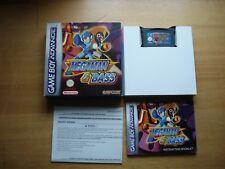 Megaman & Bass Game Boy Advance 2002 EUR Version Complete