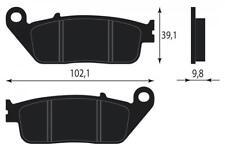 RBP665 PASTIGLIE FRENO ORGANICHE ANTERIORE HONDA NC 700 S,X (manual gearbox - No
