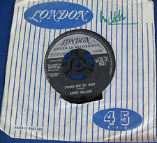 Sandy Nelson - Drums are My beat / My girl Josephine - KLondon 45-HL-P 9521