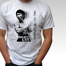 Bruce Lee Way Of The Dragon white t shirt top - mens and kids sizes