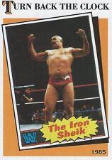 The Iron Sheik 2016 WWE Heritage Turn Back The Clock Trading Card #1 WWF