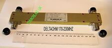 DIRECTIONAL VHF POWER COUPLER DELTAOHM TYPE  14 140 031 3dB170~230MHZ 300WATTS