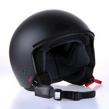 Casco Para Motocicleta de Jet, negro mate CMX, talla S,M,L,XL