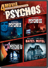 4-Movie Midnight Marathon Pack: Psycho Collection [DVD, NEW] FREE SHIPPING