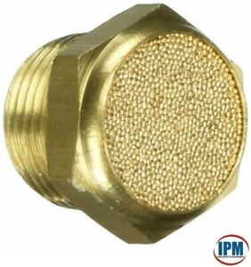 "1/4"" NPT Pneumatic Breather Vent Silencer Sintered Bronze BVB-2N  FACTORY NEW!"