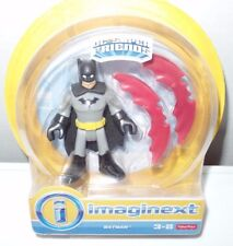 "NEW DC Super Friends BATMAN 3"" Figure & Wings Imaginext Fisher-Price Hero Squad"