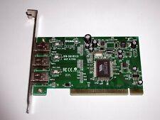 PCI Firewire IEEE1394 Adapter D-Link DFW-500, 3x extern, VIA VT6306, gebraucht