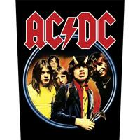 OFFICIAL LICENSED - AC/DC - HIGHWAY TO HELL SEW ON BACK PATCH ROCK