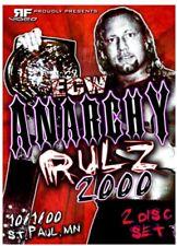 ECW ANARCHY RULZ 2000 DVD Extreme Championship Rhino Francine Tazz RVD wrestling
