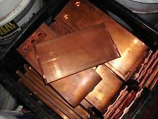 PURE CLEAN COPPER BULLION IN CUT  BAR INGOT Crafts or Investment 20 POUNDS