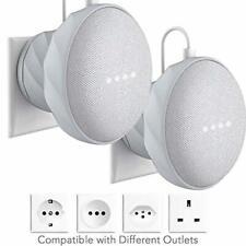 KIWI design Supporto Compatibile con Home Mini di Google, 2 pezzi Supporto da Pa