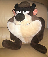 "Tasmanian Devil 1971 Plush Mighty Star Warner Brothers Jumbo Large 20"" Tall"
