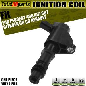 Ignition Coil for Citroen C5C6 Peugeot 406 407 Renault Laguna 2.9L 3.0L1999-2012