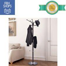 """Metal Coat Stand 67"""" Hanging Scarves Handbags Hat Jacket Towel Holder Home Decor"""