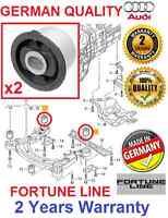 # 2x AUDI A6 C6 4F ALLROAD FRONT SUBFRAME REAR BUSH BUSHING KIT SET GERMAN LINE