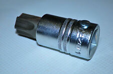 """T-100Torx Socket 3/4"""" Dr For Remv MCB transmissions Plug HAZET 1012T-100 Germany"""