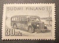 FINLAND 1946, 30 MK SISU, MAIL BUS, MNH, FREE SHIPPING!!!