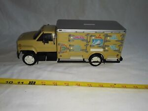 Schwan's plastic Delivery Truck, Lighted Bank GMC, Works, Toy Key Included.