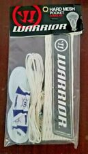 Warrior Hard Mesh Pocket String Kit - Attack/Defense for Lacrosse