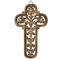 Handmade Wooden Wall Mounted Climbing Faith Key Holder Rack
