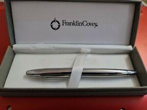 A. T. Cross Lexington Chrome Rollerball Pen Gel Ink Rollerball Pen Black Fine...