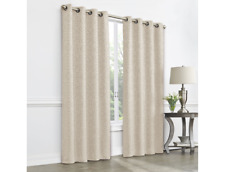 "JCP Home Pebble Beach Plaza Tapestry Blackout Grommet Curtain Panel 50""x120"""
