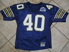PITTSBURGH PANTHERS VINTAGE  GAME JERSEY PITT GAME JERSEY DUKES BIG EAST RIPPON
