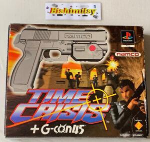 Time Crisis +G-con45 Gun Set - Rare PlayStation Game - Good Condition