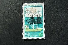 DDR, 1974, Weltpostverein (gestempelt)