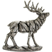 Large Silver Stag Ornament Leonardo Collection Home Decor Gift Boxed Statue New