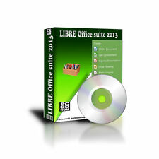 2013 Libre Office Suite Professional Pro for Microsoft Windows 7 Vis XP CD Rom