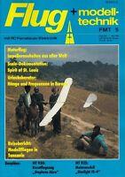 FMT8605 Bauplan MT-930 Motormodell STARLIGHT FE-2, Teil 1 + 2 + FMT 5 und 6/1986