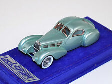 1/43 Looksmart Bugatti TYP57S Competition Coupe Aerolithe Met Blue Alcantara