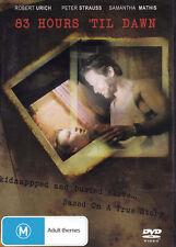 83 HOURS 'TIL DAWN Robert Urich - Peter Strauss - Samantha Mathis DVD R4 New PAL