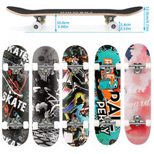 """Best Trick Complete Skateboard 31""""x 8"""" Double Kick Concave Skateboards Gift Fun"""