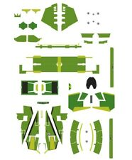 Green 1/144 water decals bandai star wars vehicle model 009 Jedi starfighter