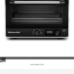 KitchenAid KCO211BM Matte Black Digital Countertop Oven with 9 Pre-Set Functions