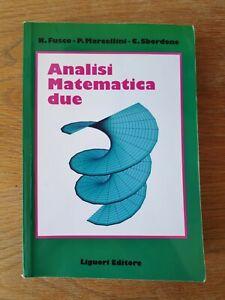 ANALISI MATEMATICA 2 - FUSCO, MARCELLINI, SBORDONE